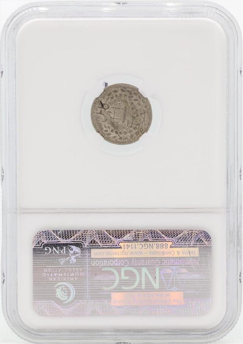 AH1313(1895) Afghan Abassi KM-810 Coin NGC MS65 - 2