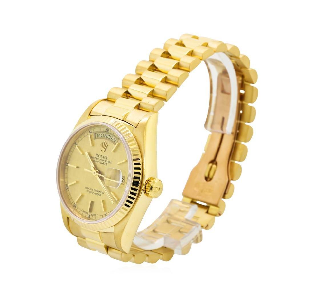 Gents Rolex 18KT Yellow Gold President Daydate Watch - 2