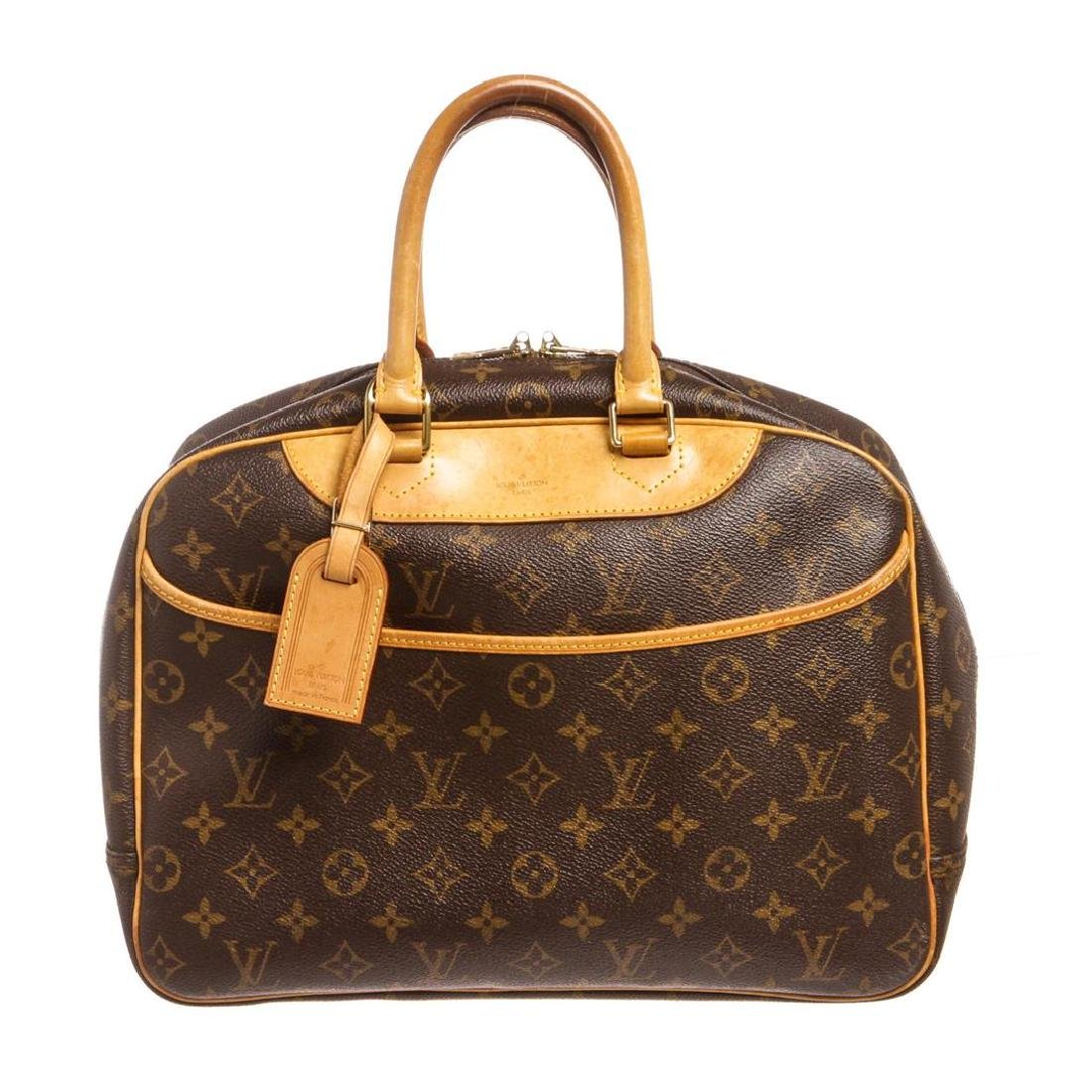 Louis Vuitton Monogram Canvas Leather Deauville Doctor