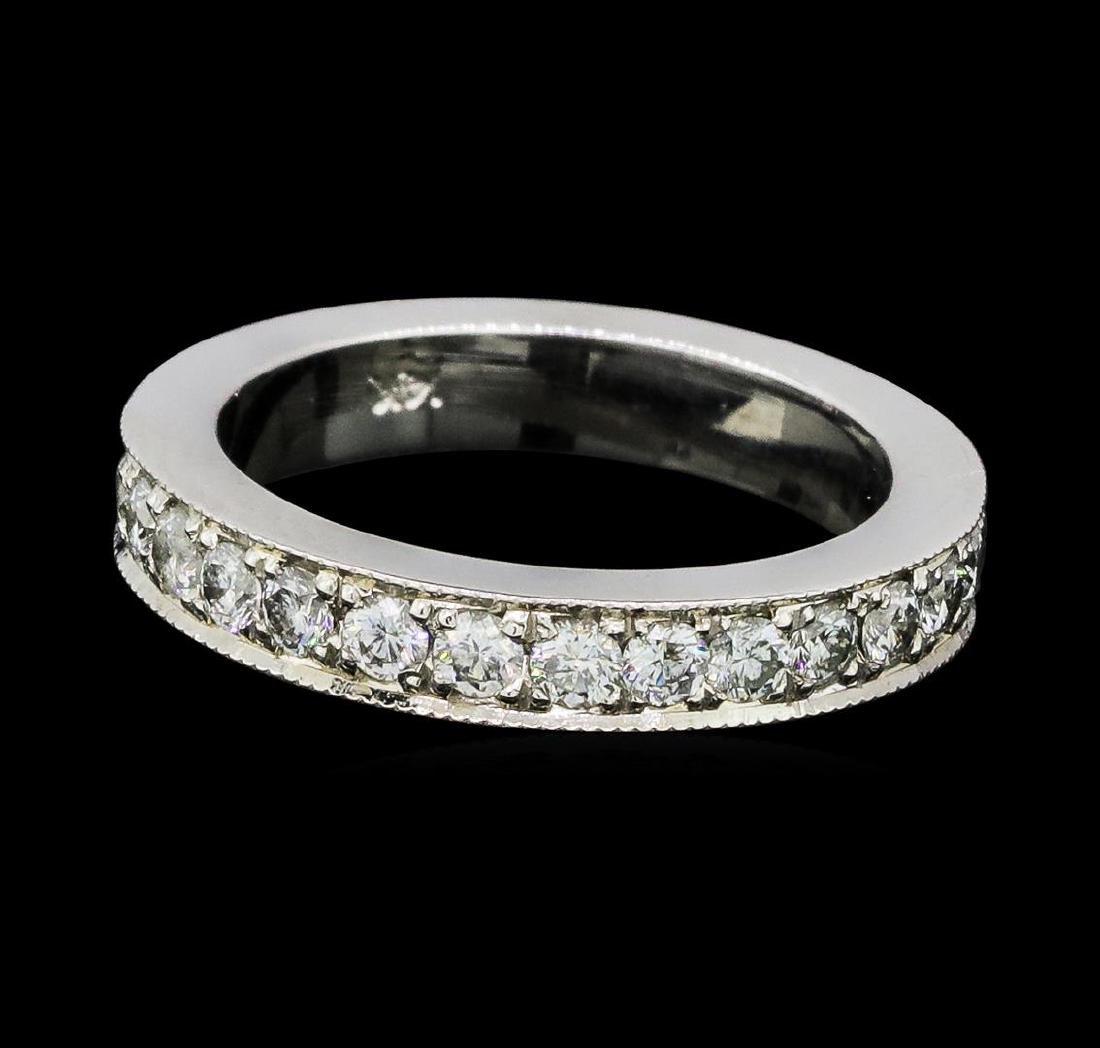 1.02 ctw Diamond Eternity Ring - 14KT White Gold