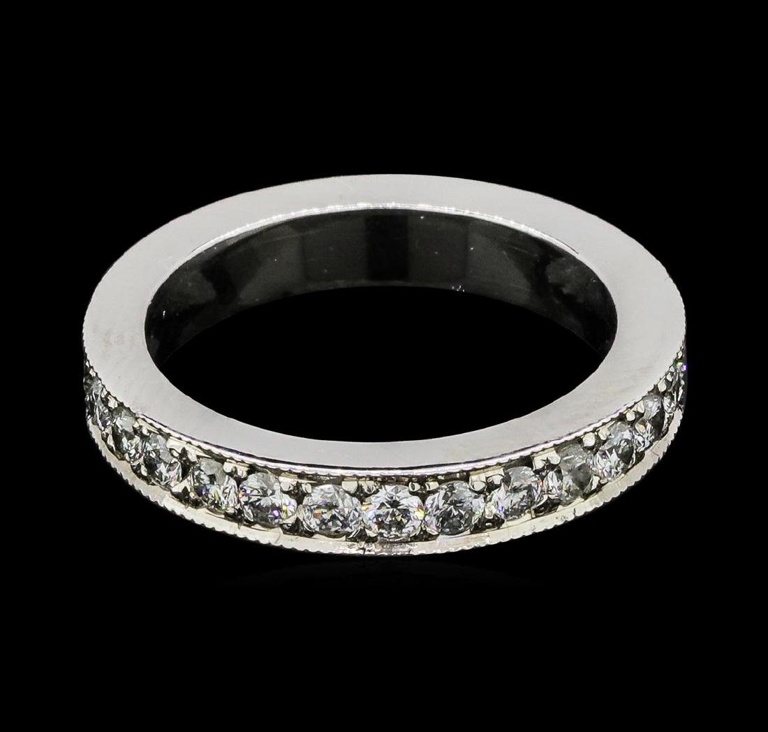 1.02 ctw Diamond Eternity Ring - 14KT White Gold - 3