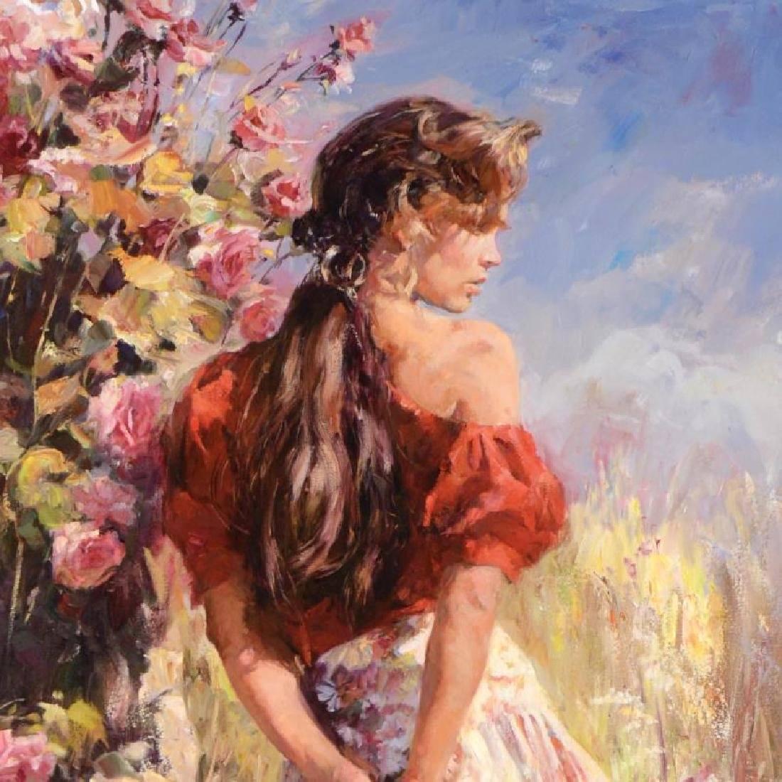 Cherished Roses by Garmash - 2