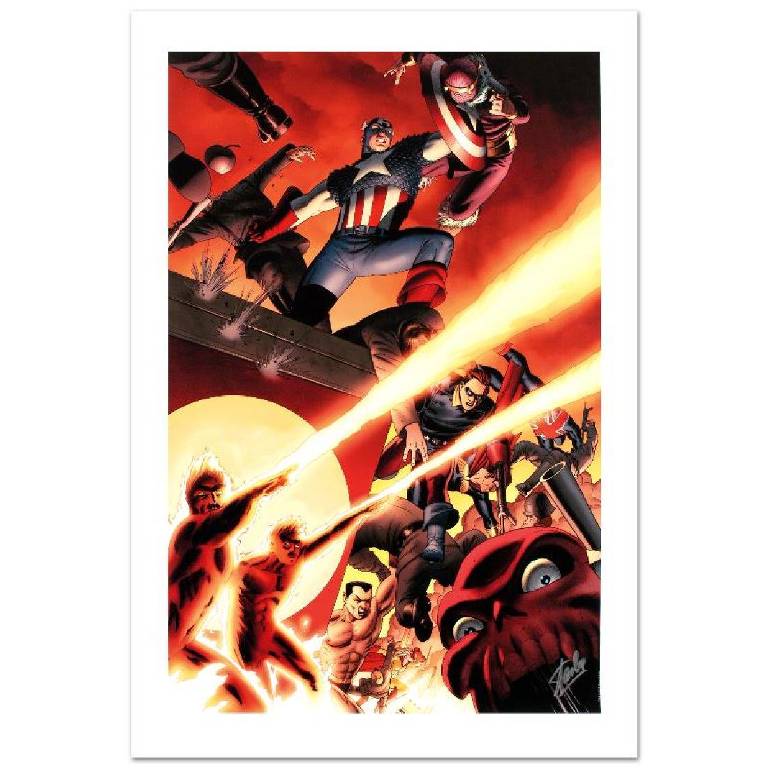 Fallen Son: Death of Captain America #5 by Stan Lee -