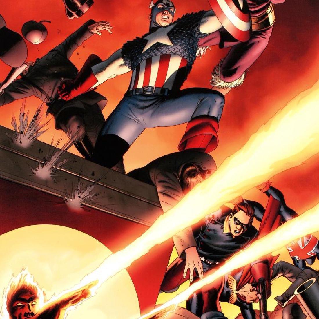 Fallen Son: Death of Captain America #5 by Stan Lee - - 2