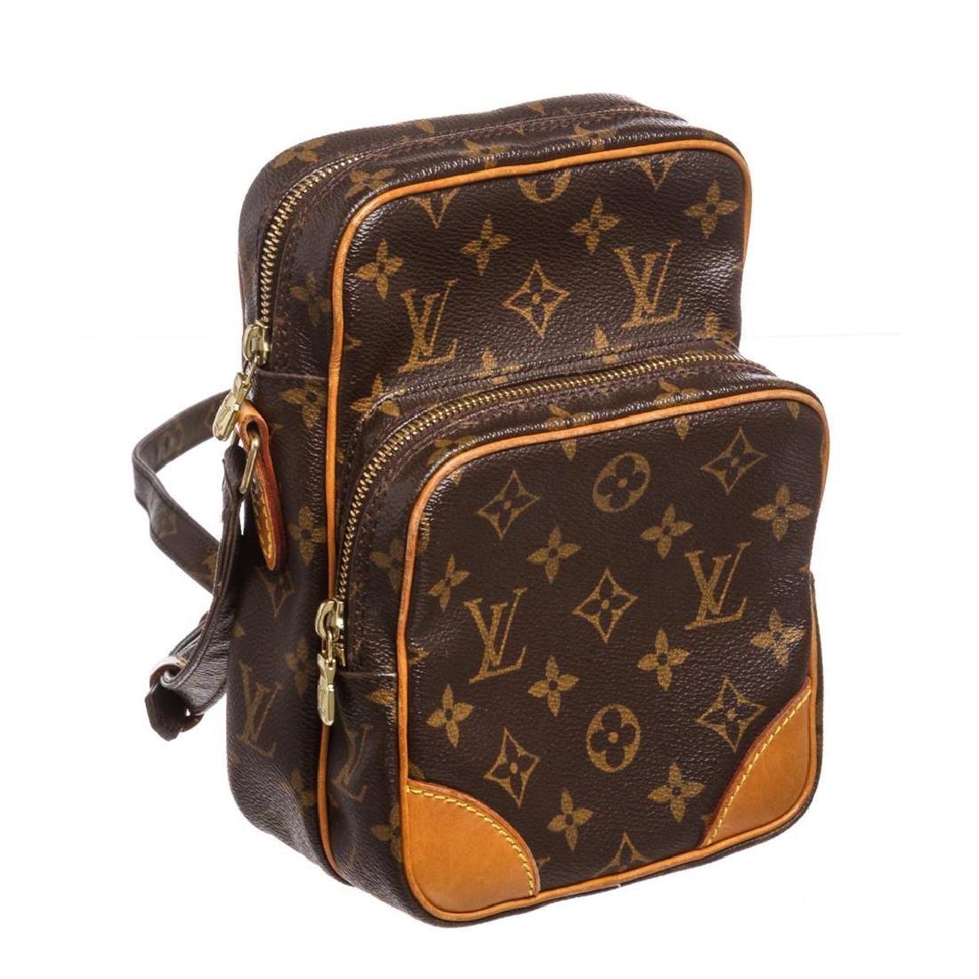 Louis Vuitton Monogram Canvas Leather Amazone Crossbody - 2