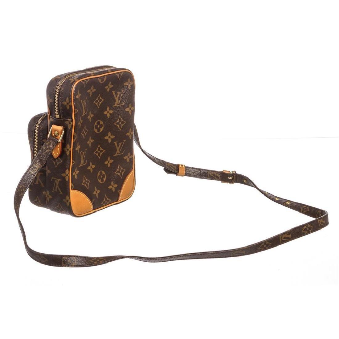 Louis Vuitton Monogram Canvas Leather Amazone Crossbody - 3