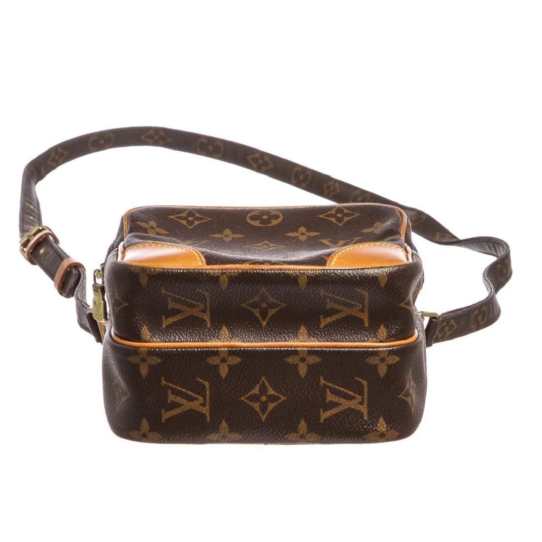 Louis Vuitton Monogram Canvas Leather Amazone Crossbody - 4