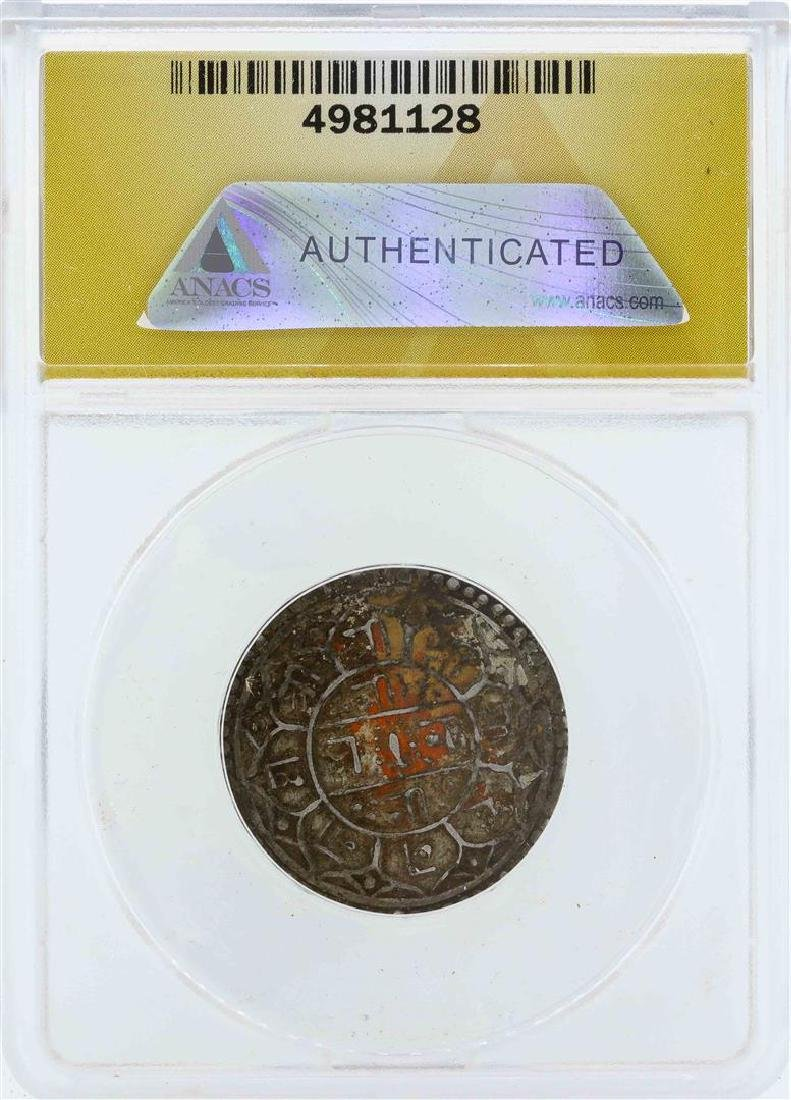 1797 Nepal Shah Dynasty Mohoar Coin ANACS EF45 - 2