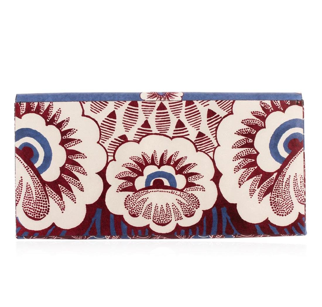 Valentino 2015 Floral Clutch - 2