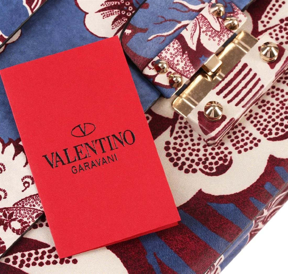 Valentino 2015 Floral Clutch - 5