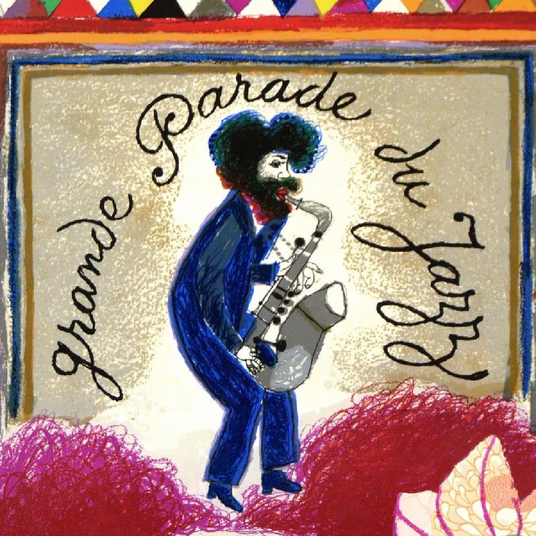 Grande Parade Du Jazz by Tobiasse (1927 - 2012) - 2