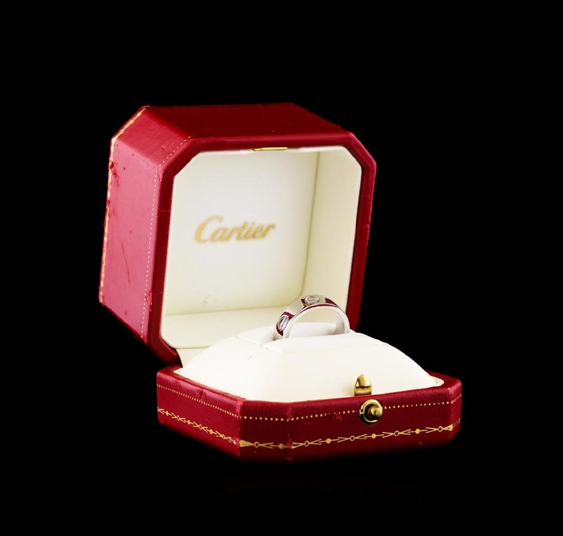 Cartier Silver 18KT Ring