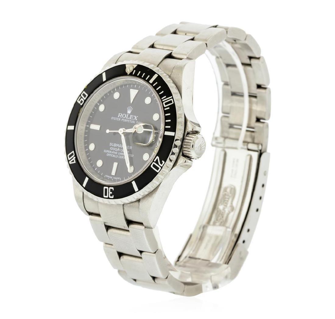 Rolex Stainless Steel Submariner Date Men's Watch - 2
