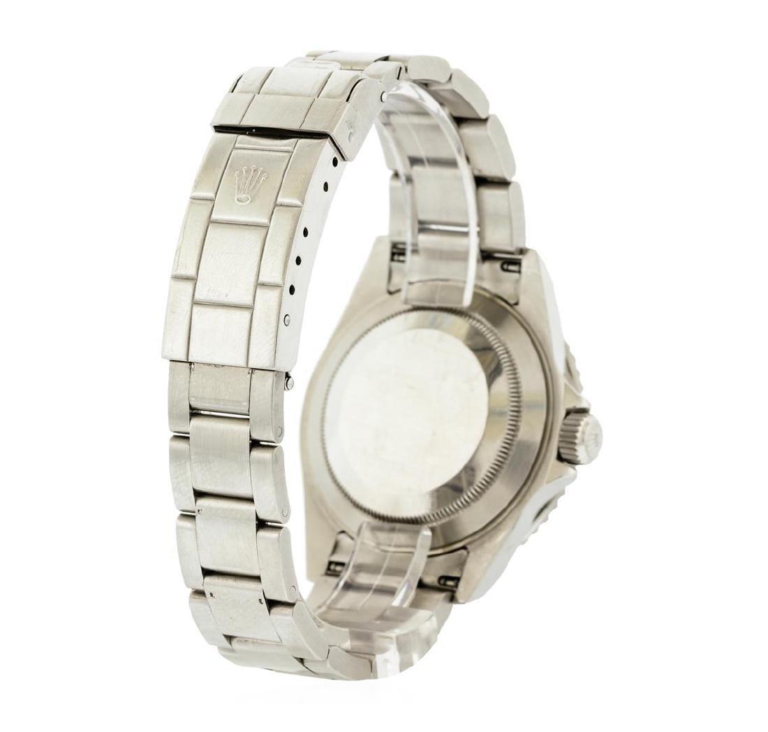 Rolex Stainless Steel Submariner Date Men's Watch - 3