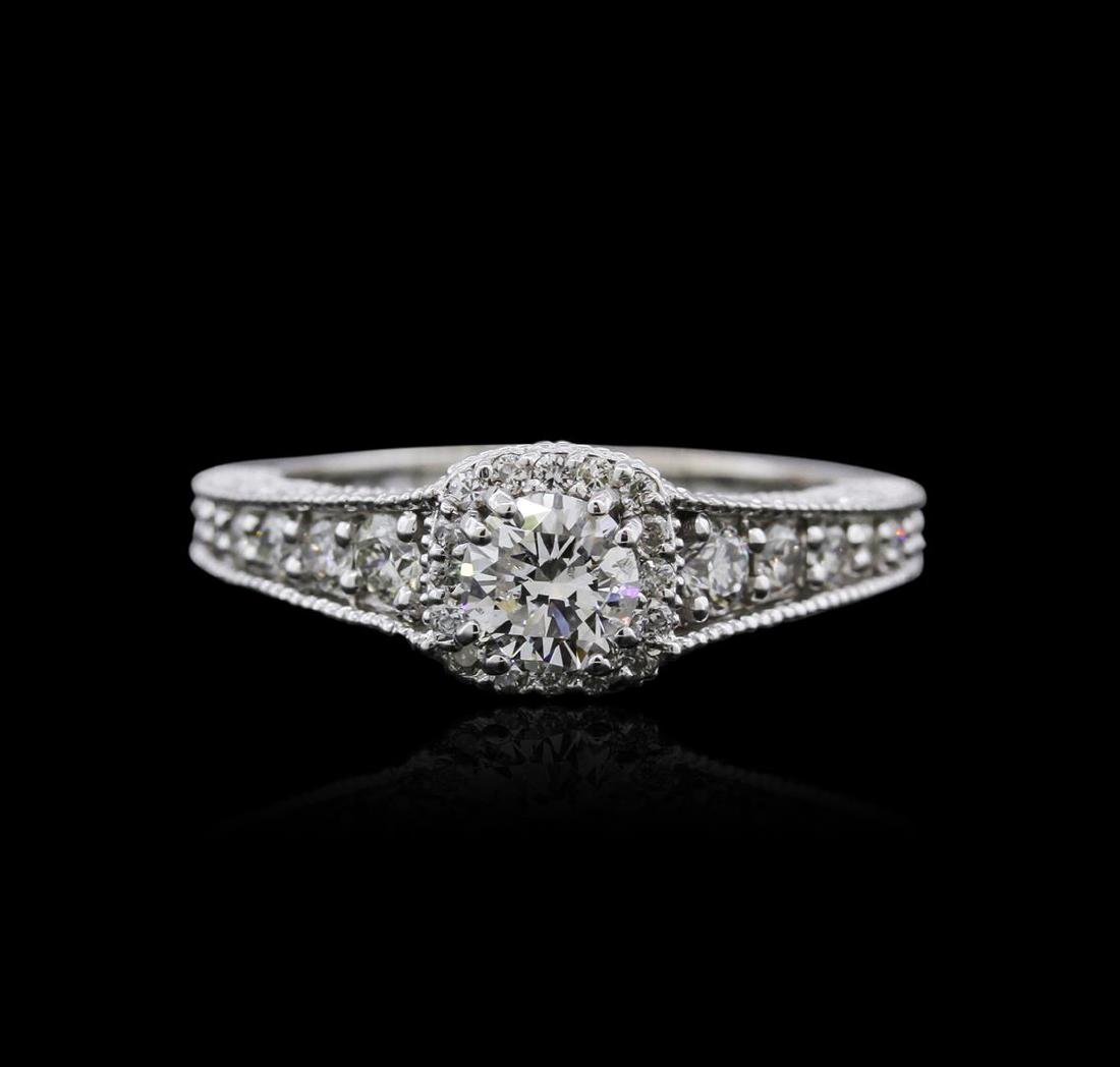 14KT White Gold 1.22 ctw Diamond Ring - 2