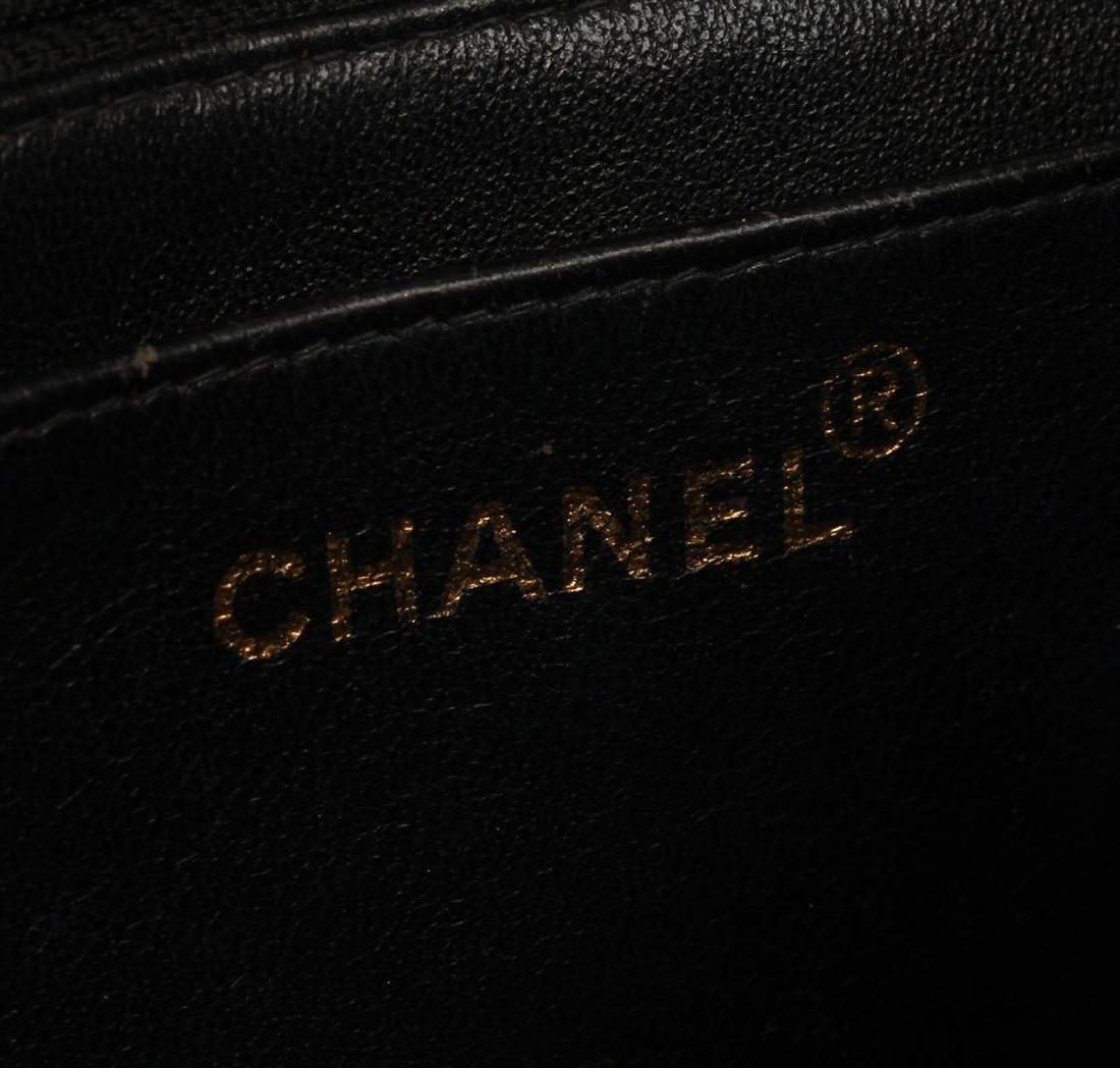 Chanel Black Mini Flap Bag - 5
