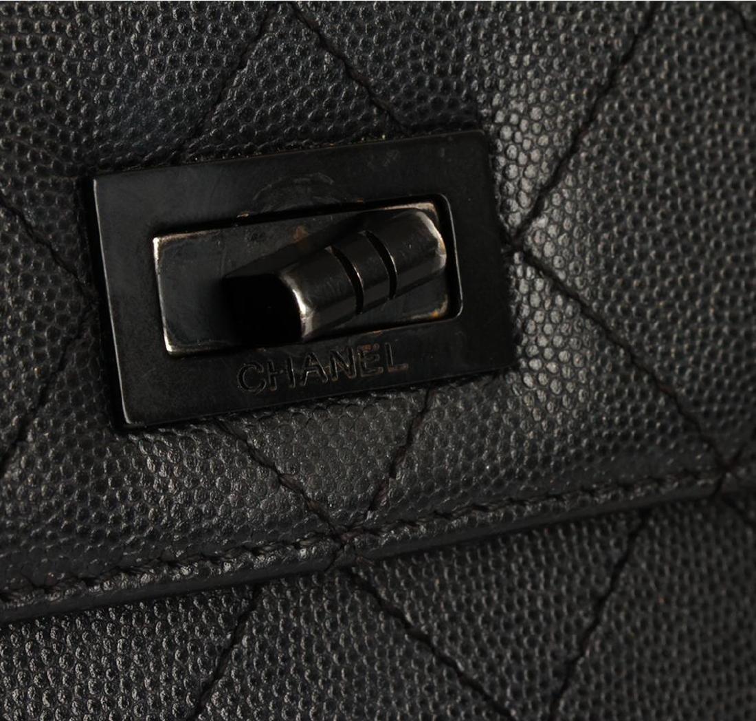 Chanel Black Mini Flap Bag - 7