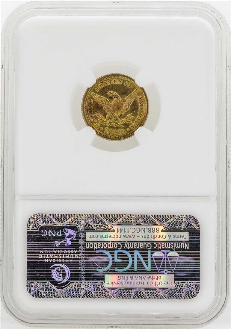 1907 $2 1/2 Liberty Head Quarter Eagle Gold Coin NGC - 2