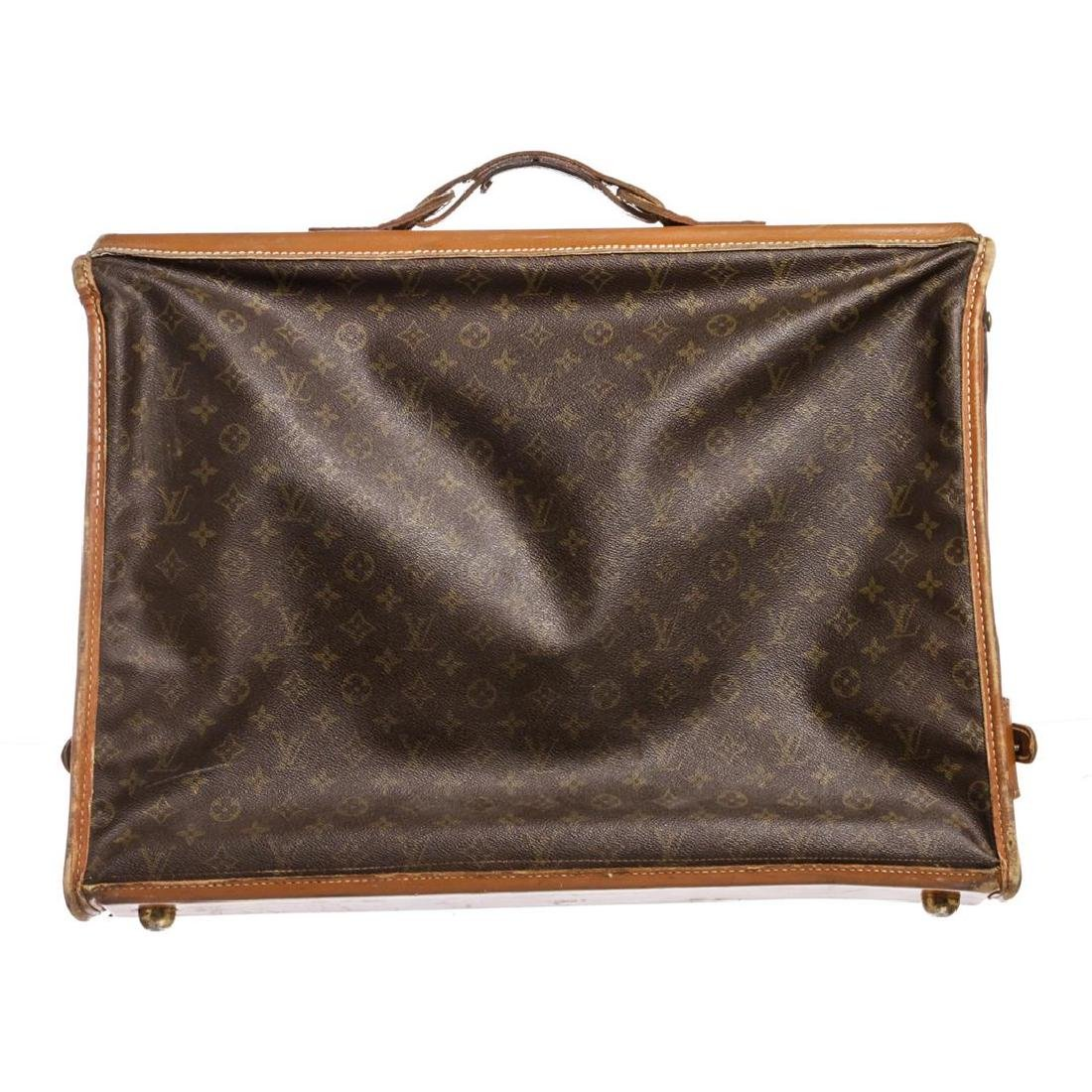 Louis Vuitton Monogram Canvas Leather Vintage Garment