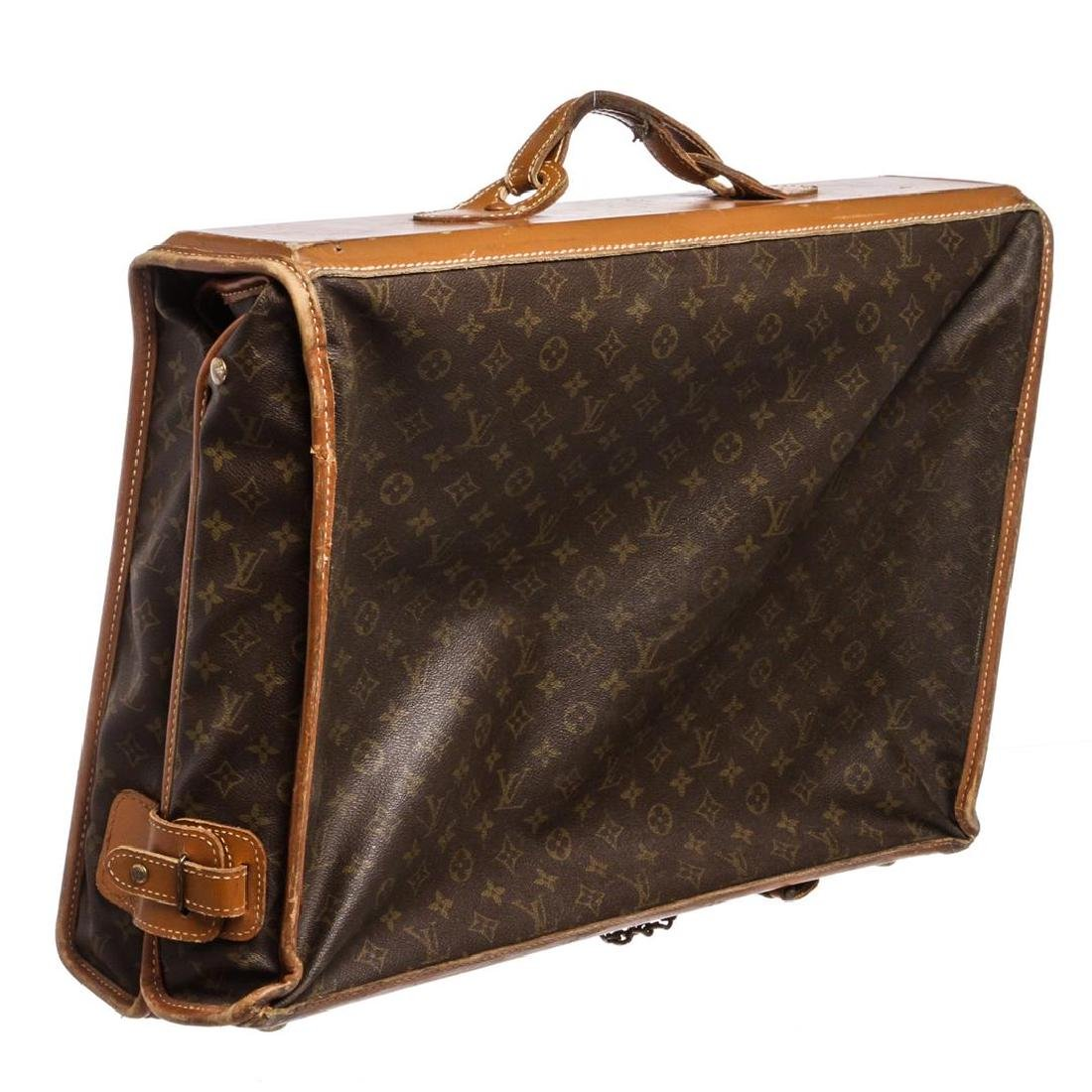 Louis Vuitton Monogram Canvas Leather Vintage Garment - 3