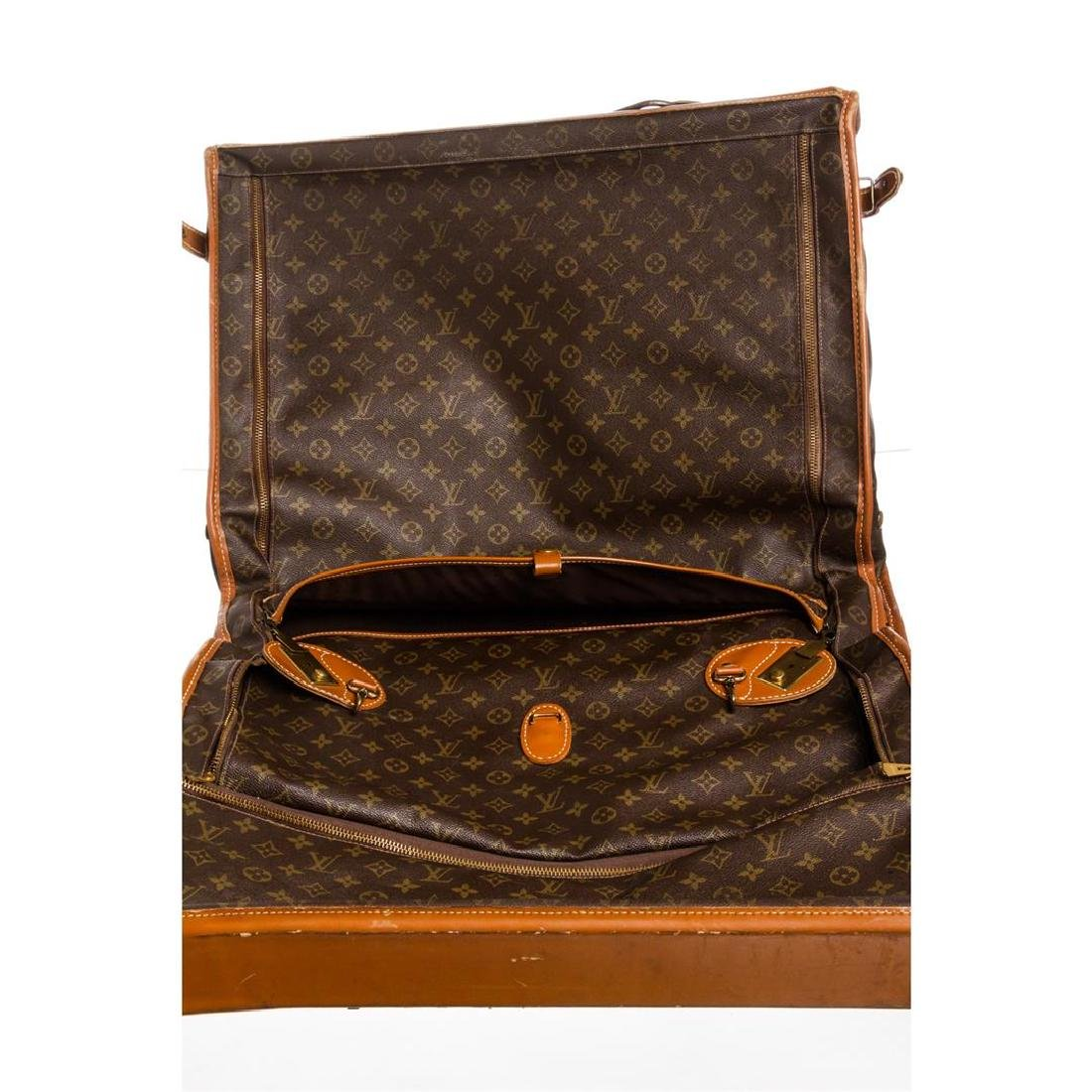 Louis Vuitton Monogram Canvas Leather Vintage Garment - 5