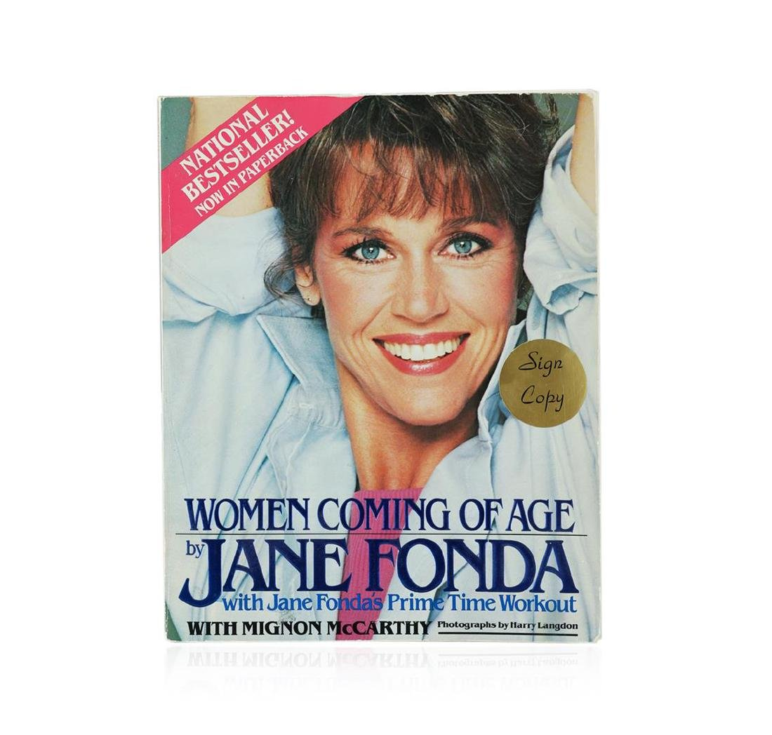 Signed Copy of Women Coming of Age by Jane Fonda