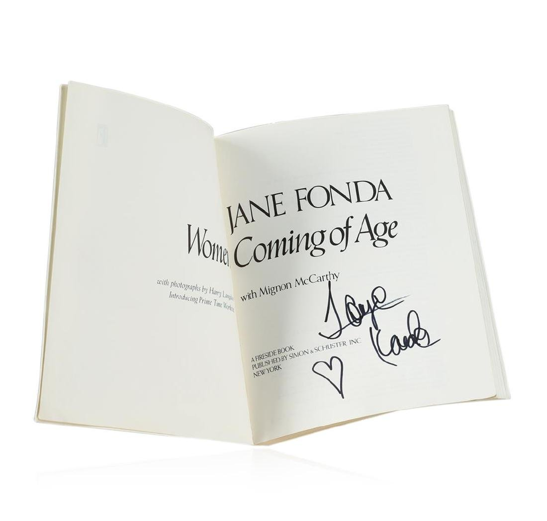 Signed Copy of Women Coming of Age by Jane Fonda - 2