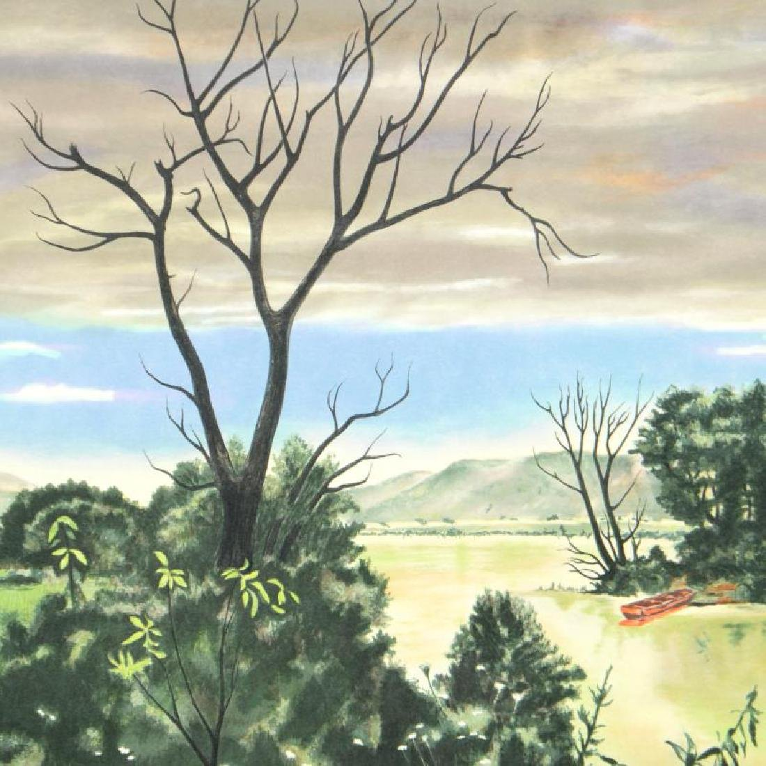 The Marsh by Carter (1904-2000) - 2