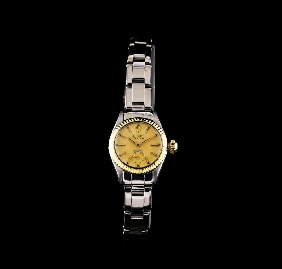 Rolex 14KT Two-Tone Oyster Precision Vintage Ladies