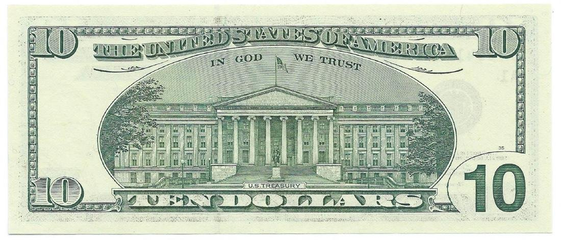 2003 $10 Federal Reserve Star Note CHC - 2