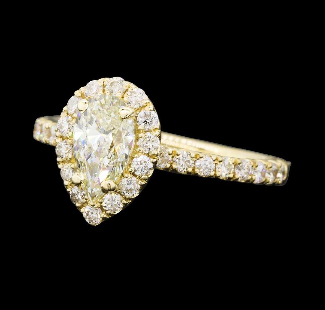 1.26 ctw Diamond Ring - 14KT Yellow Gold