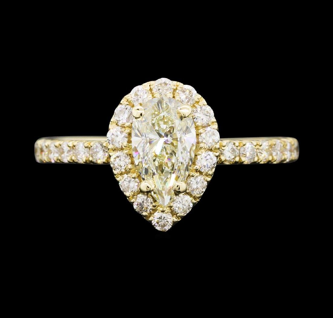 1.26 ctw Diamond Ring - 14KT Yellow Gold - 2