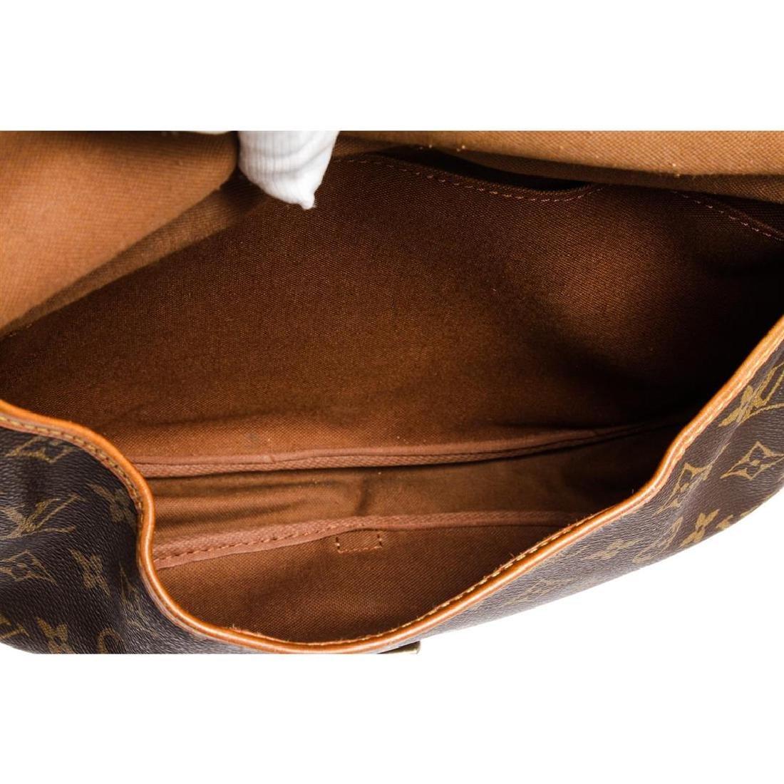 Louis Vuitton Monogram Canvas Leather Saumur 30 cm - 5