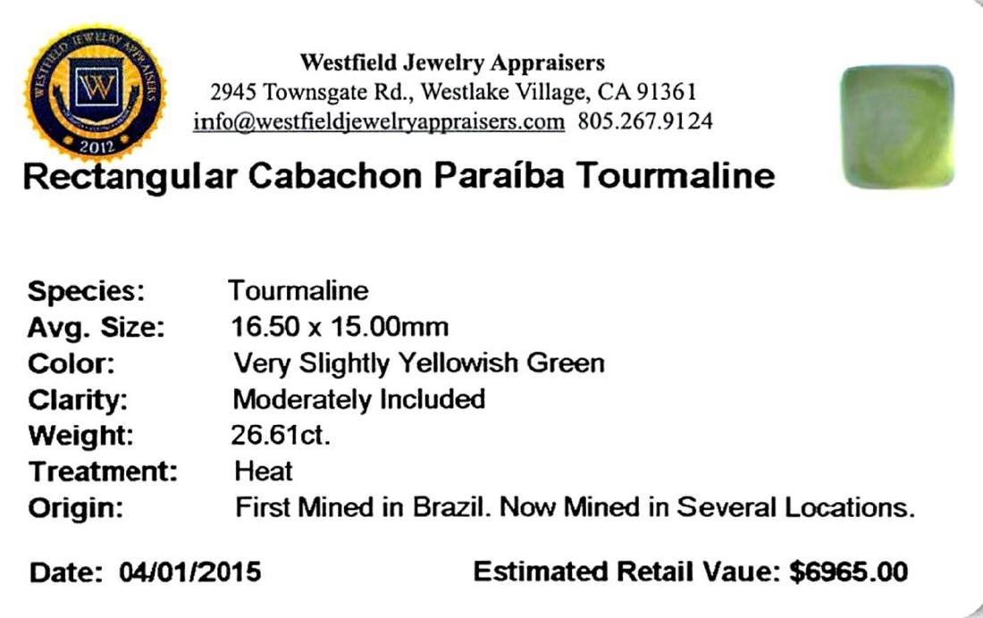 26.61 ctw Cabochon Paraiba Tourmaline Parcel - 2