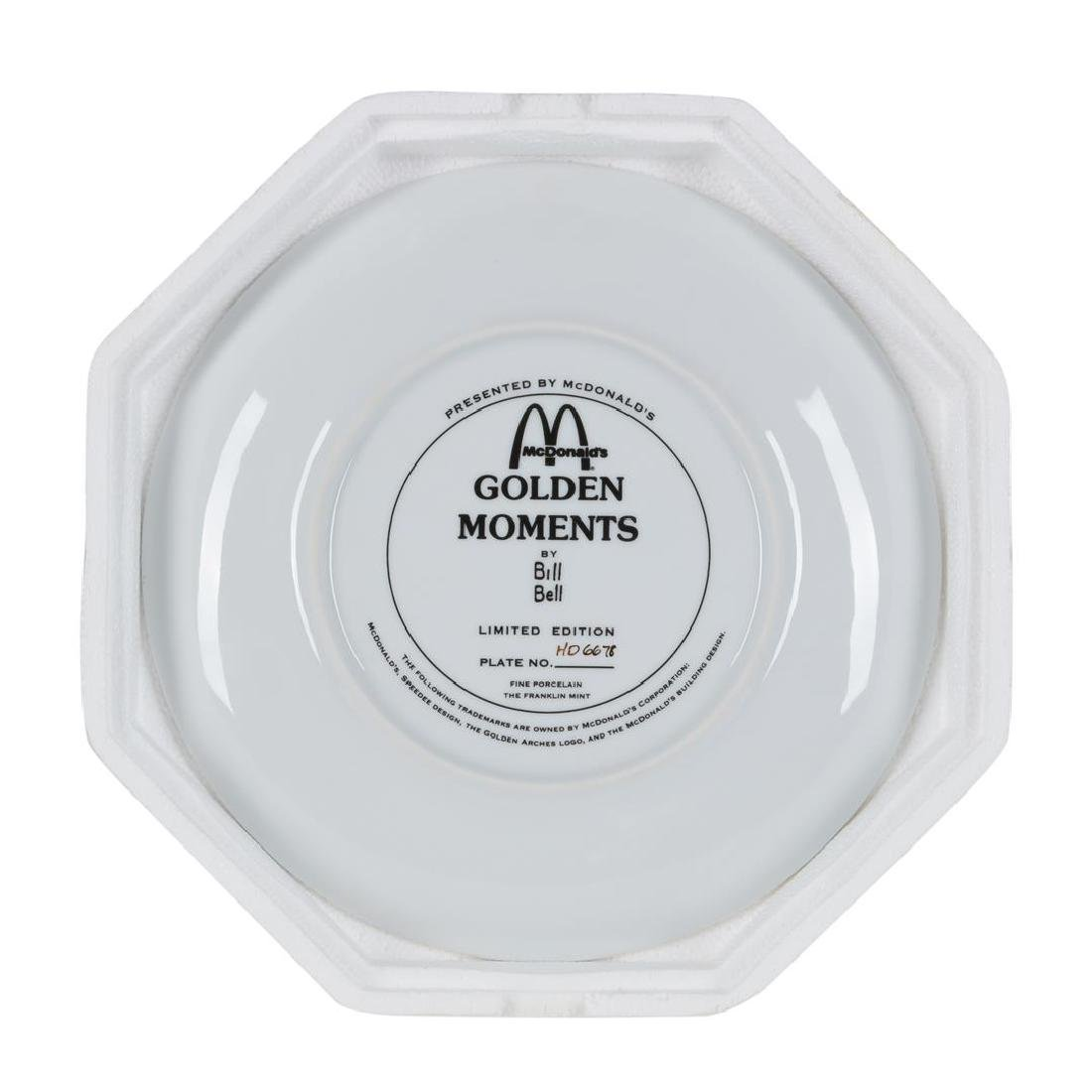 """Bill Bell """"Golden Moments"""" Collector Plate from the - 2"""