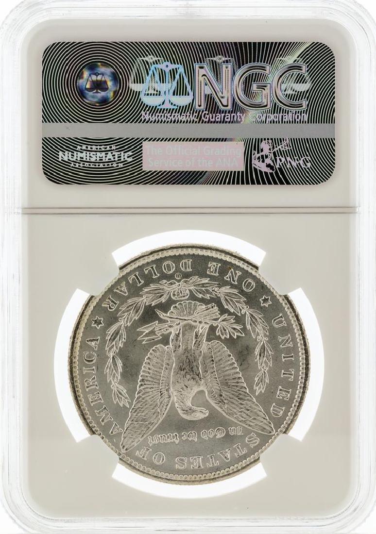 1885-O NGC MS63 Morgan Silver Dollar - 3