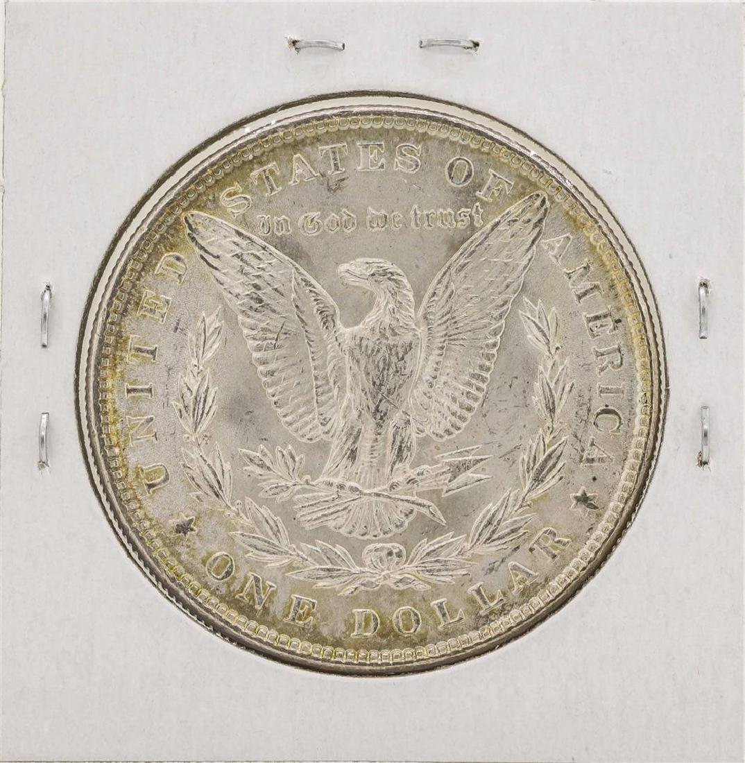 1887 $1 Morgan Silver Dollar Coin - 2