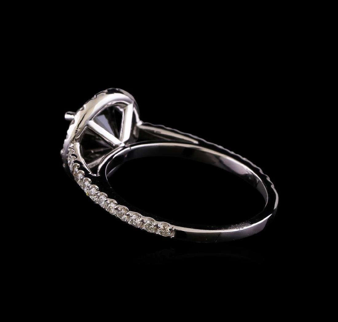 2.60 ctw Black Diamond Ring - 14KT White Gold - 3