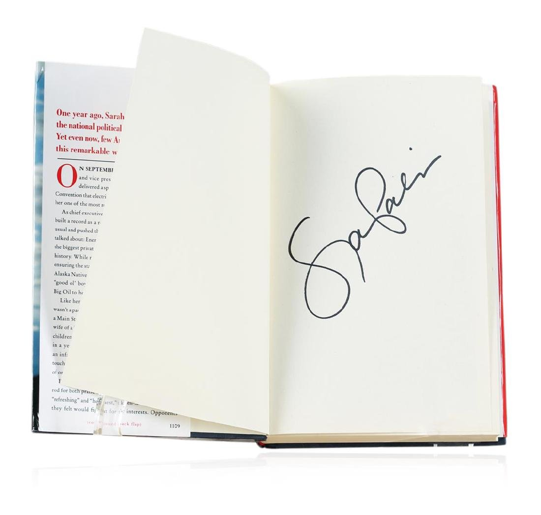 Signed Copy of Going Rogue: An American Life by Sarah - 2