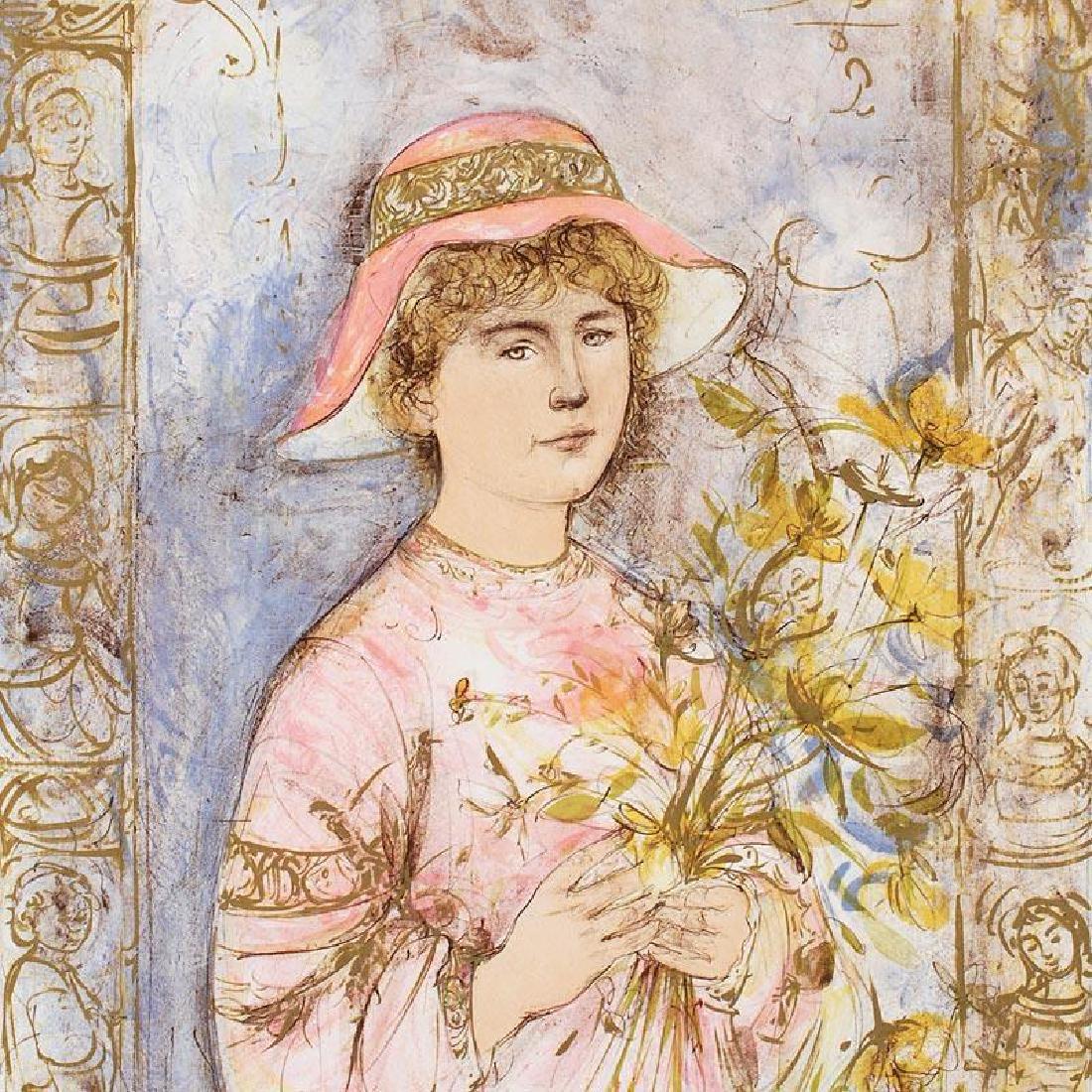 Flora by Hibel (1917-2014) - 2
