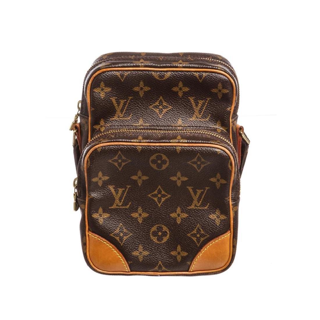 Louis Vuitton Monogram Canvas Leather Amazone Crossbody