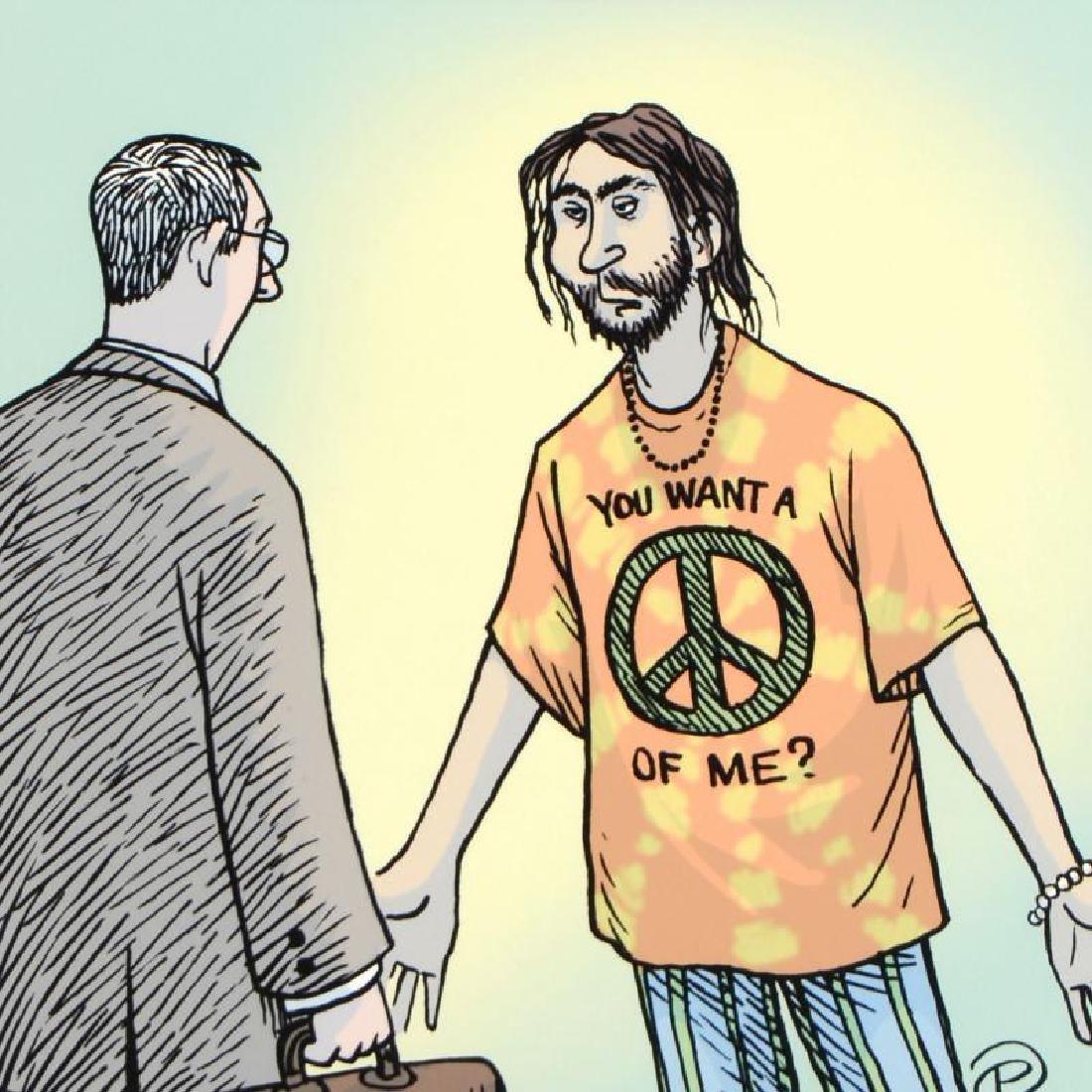 Passive Agressive Hippie by Bizarro - 2