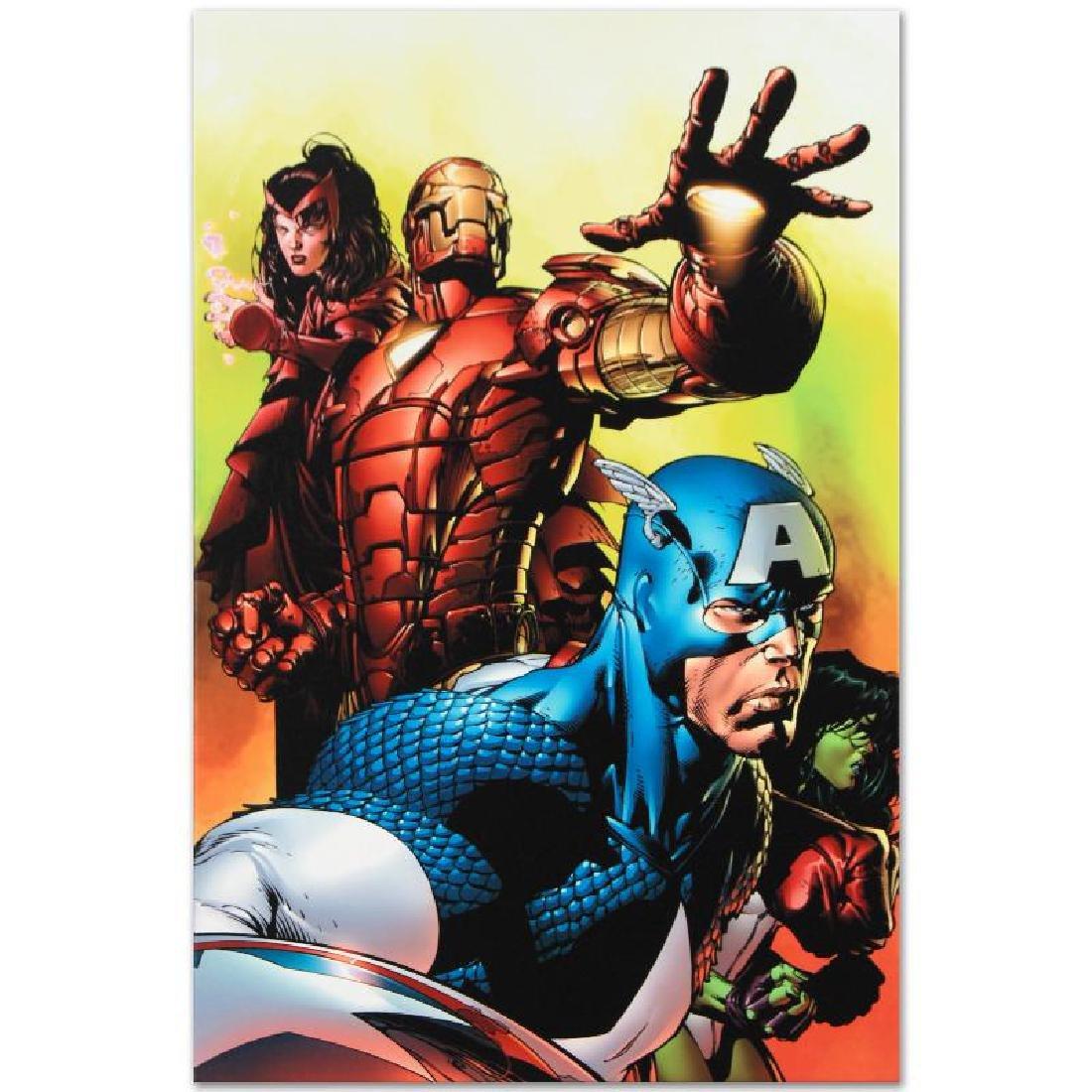 Avengers #501 by Marvel Comics - 3