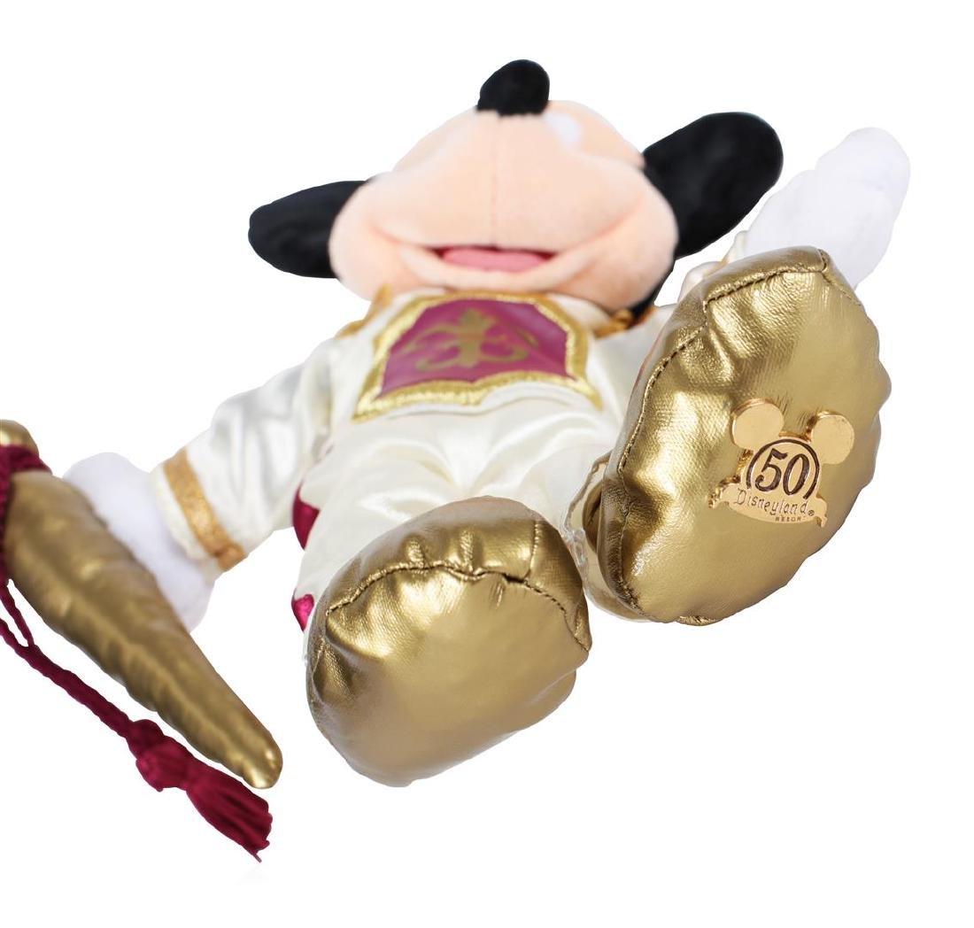 "Mickey Mouse 12"" Plush - 50 Years Disneyland ""Happiest - 3"