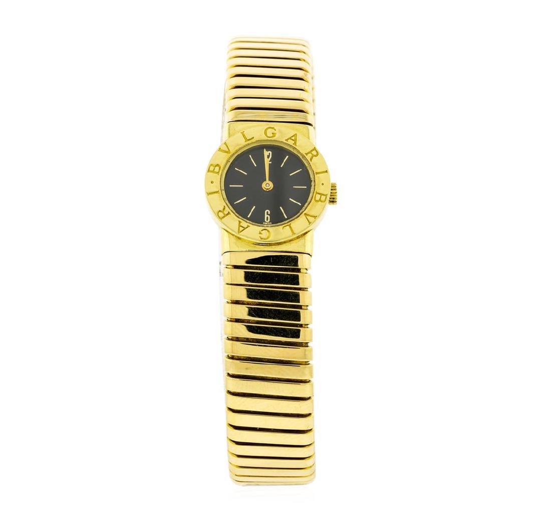 Bvlgari 18KT Yellow Gold Tubogas Watch
