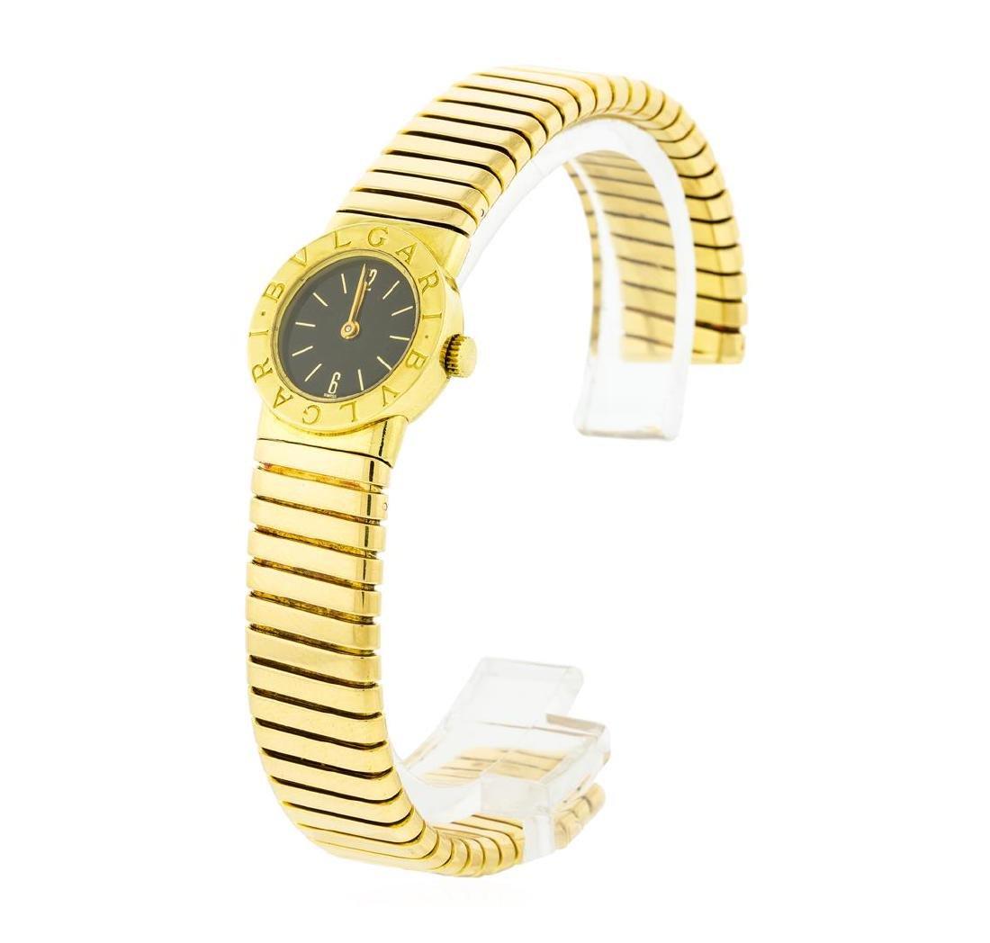 Bvlgari 18KT Yellow Gold Tubogas Watch - 2