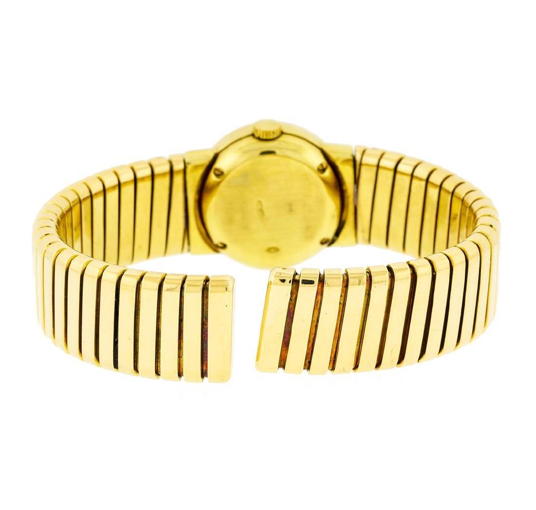 Bvlgari 18KT Yellow Gold Tubogas Watch - 3