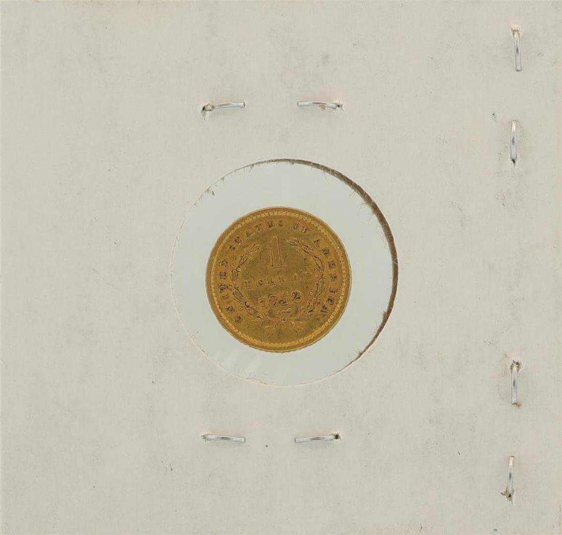 1852 $1 Liberty Head Gold Coin - 2