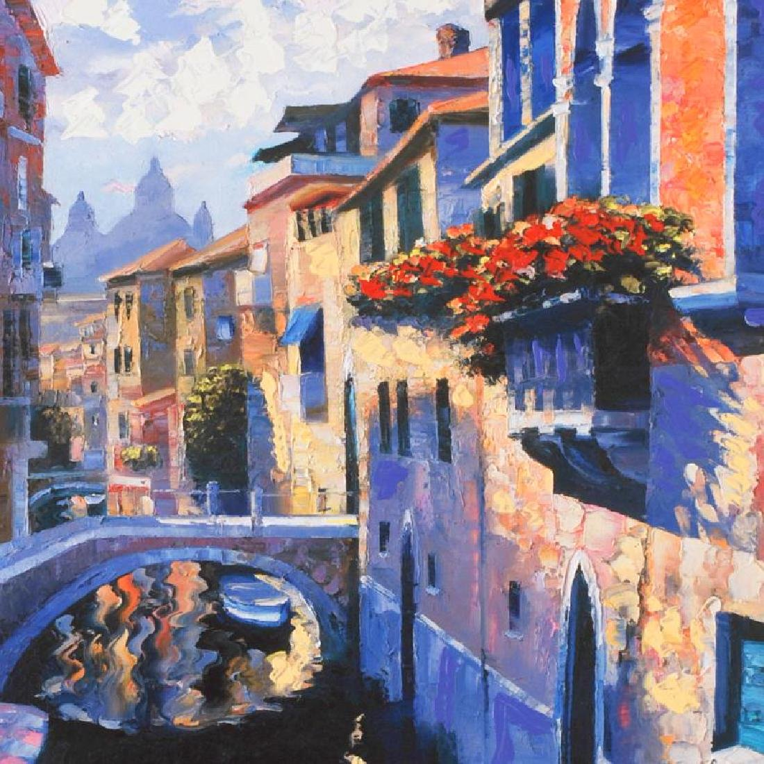 Magic of Venice III by Behrens (1933-2014) - 2