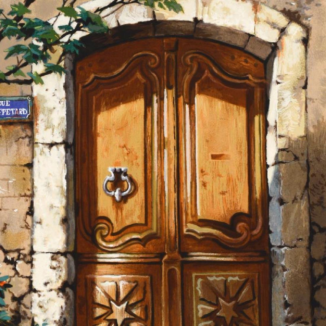 Rue Mouffetard by Metlan, Anatoly - 2